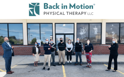 Auburn Celebrates Opening of Back in Motion Physical Therapy with Ribbon Cutting